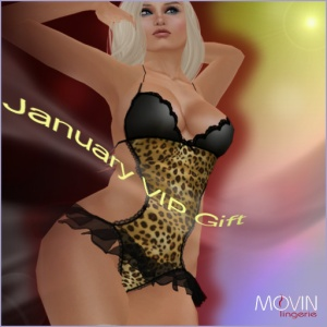 MOVIN LINGERIE JANUARY GIFT